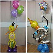 Подарки к праздникам ручной работы. Ярмарка Мастеров - ручная работа Подарок из воздушных шаров. Handmade.