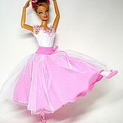 Куклы и игрушки handmade. Livemaster - original item Ballerina costume for doll.. Handmade.