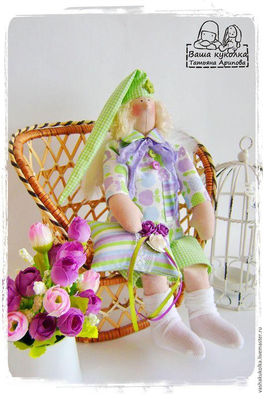 Куклы Тильды ручной работы. Ярмарка Мастеров - ручная работа. Купить Ангелы сна. Handmade. Комбинированный, сонный, шебби лента