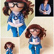 Портретная кукла ручной работы. Ярмарка Мастеров - ручная работа Портретная кукла Классный руководитель. Handmade.