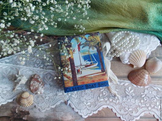 Блокноты ручной работы. Заказать Блокнотики морские 3 шт. Sinichka36. Ярмарка Мастеров. Лето, блокнот в подарок, Блокнот для женщины