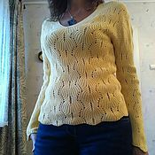 Одежда ручной работы. Ярмарка Мастеров - ручная работа Вязанный свитер. Handmade.