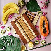 Для дома и интерьера manualidades. Livemaster - hecho a mano Tabla de cortar de madera (Sapeli). Handmade.
