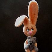 Куклы и игрушки ручной работы. Ярмарка Мастеров - ручная работа Лана с игрушкой. Handmade.