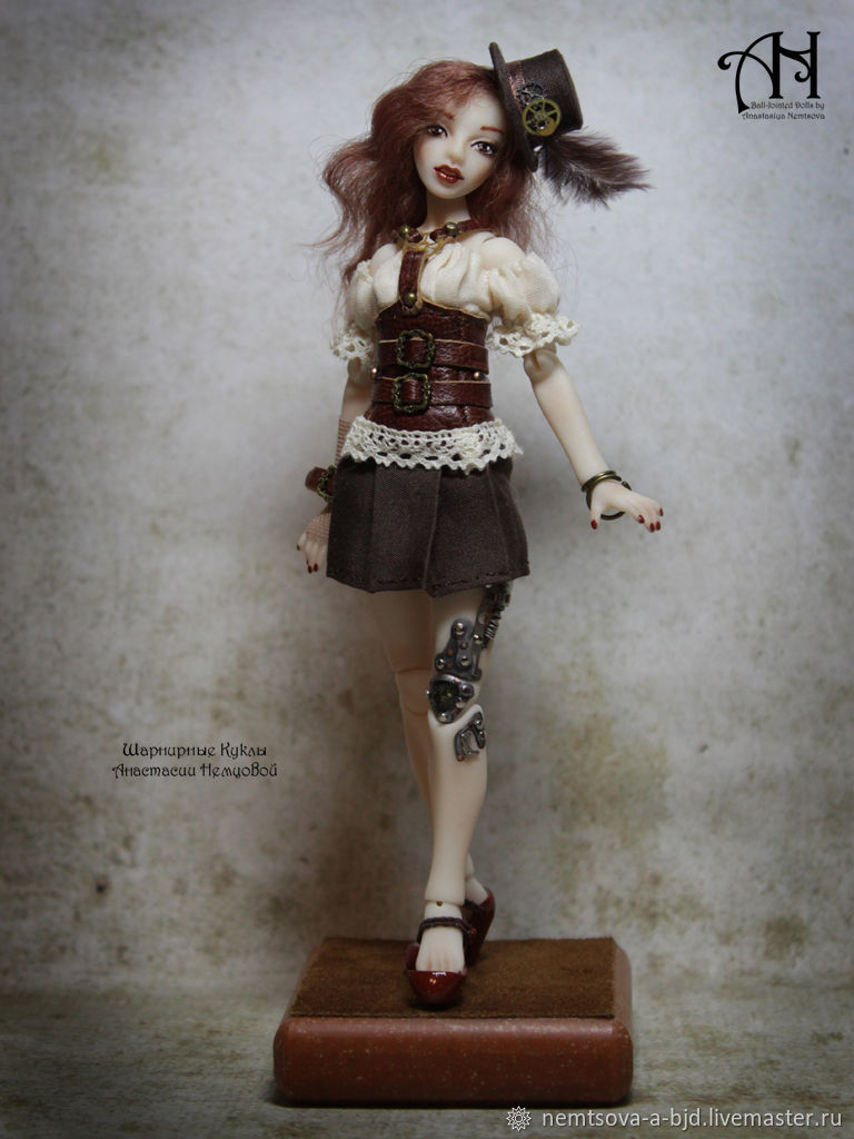 Anthea (12,5 cm), Ball-jointed doll, Moscow,  Фото №1