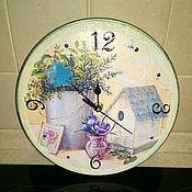 Для дома и интерьера ручной работы. Ярмарка Мастеров - ручная работа Настенные часы. Handmade.