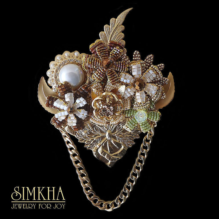 Brooch No. №3 from the collection of 'the Nutcracker', Brooches, Netanya,  Фото №1