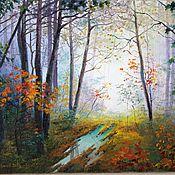 Картины и панно handmade. Livemaster - original item Oil painting W Tomanek Chernov. Handmade.