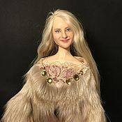Портретная кукла. Авторская кукла Эмилия.