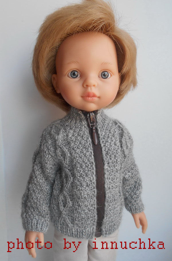 Кардиган для мальчишек Паола Рейна, Одежда для кукол, Санкт-Петербург,  Фото №1