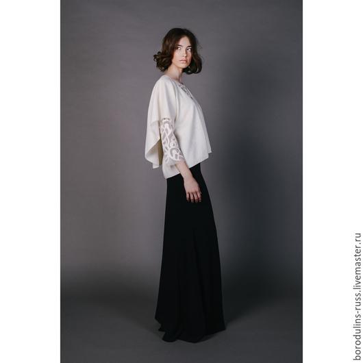 Блузки ручной работы. Ярмарка Мастеров - ручная работа. Купить Кардиган К 16-07. Handmade. Красивая блуза