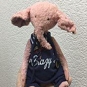 Куклы и игрушки ручной работы. Ярмарка Мастеров - ручная работа слон Ден. Handmade.