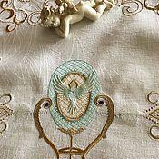 Для дома и интерьера handmade. Livemaster - original item TABLECLOTHS: Path on the table embroidered