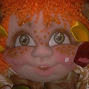 """Для дома и интерьера ручной работы. Ярмарка Мастеров - ручная работа Кукла - попик  """"На удачу"""". Мои голопопики.. Handmade."""