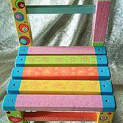 Для дома и интерьера ручной работы. Ярмарка Мастеров - ручная работа Стульчик детский. Handmade.