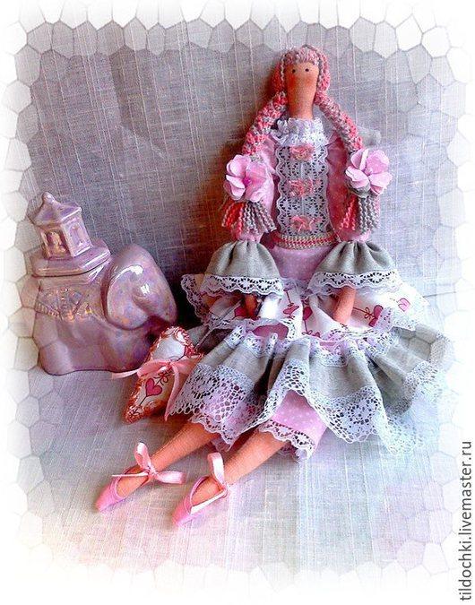 Куклы Тильды ручной работы. Ярмарка Мастеров - ручная работа. Купить Ангел Мира и Любви,,,Нежный Ангел в стиле Тильда. Handmade.