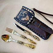 Сувениры и подарки handmade. Livemaster - original item A set of tourist Fisherman. Handmade.