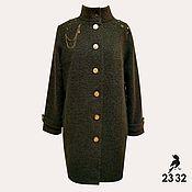 Одежда ручной работы. Ярмарка Мастеров - ручная работа Шерстяное пальто Sevastopol. Handmade.