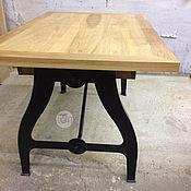 Для дома и интерьера ручной работы. Ярмарка Мастеров - ручная работа Стол раздвижной в стиле Лофт 3. Handmade.