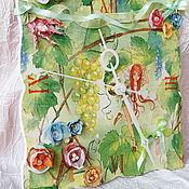 """Для дома и интерьера ручной работы. Ярмарка Мастеров - ручная работа Часы для девочки""""Лесная фея"""". Handmade."""