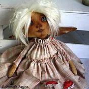 Куклы и игрушки ручной работы. Ярмарка Мастеров - ручная работа Текстильная кукла. Алёна 48 см.. Handmade.
