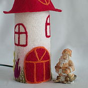Для дома и интерьера ручной работы. Ярмарка Мастеров - ручная работа Ночник в детскую ``Лето красное``. Handmade.