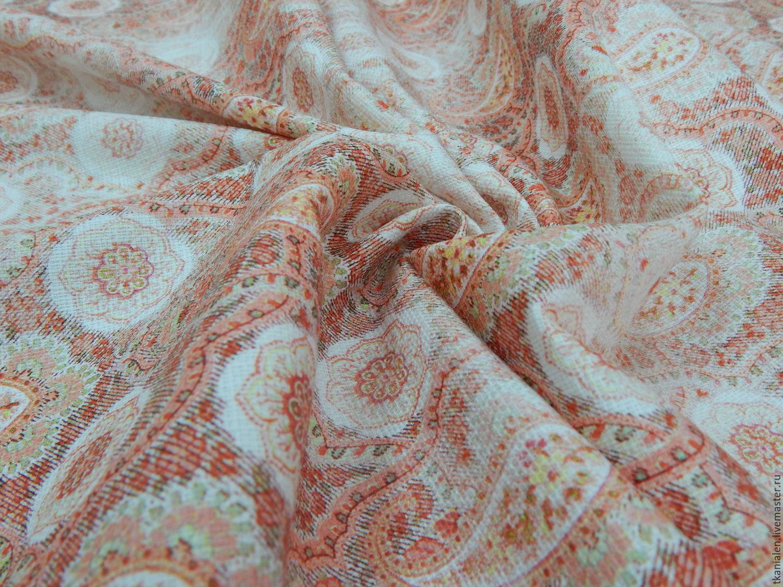 Хлопковая ткань Итальянская, розовые огурцы MSGM, Ткани, Пенза, Фото №1