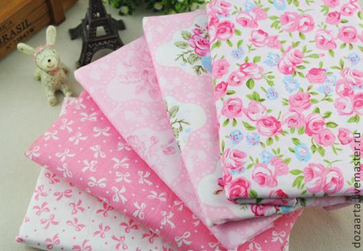 Тильда-ткань в стиле шеби шик для шитья текстильной куклы и игрушек, пэчворка и т.д.