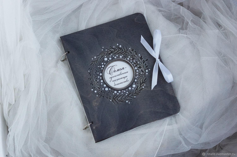 Фотоальбом с плотными листами, Фотоальбом свадебный, Екатеринбург,  Фото №1