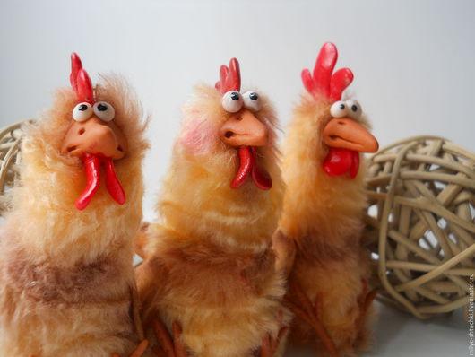 Куклы и игрушки ручной работы. Ярмарка Мастеров - ручная работа. Купить Петюнечки  (Петух-символ 2017 года). Handmade. Рыжий