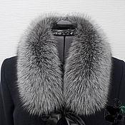 handmade. Livemaster - original item Fur detachable collar fringe Fox fur No. №1. Handmade.