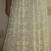 Одежда ручной работы. Ярмарка Мастеров - ручная работа ЮБКА молочного цвета. Handmade.