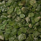 Материалы для творчества handmade. Livemaster - original item 10 pieces - Chrysolite pieces, small crystals. Handmade.
