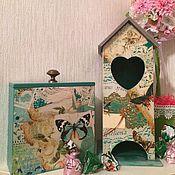 Для дома и интерьера ручной работы. Ярмарка Мастеров - ручная работа Комплект для кухник Romantik. Handmade.