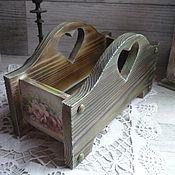 Для дома и интерьера ручной работы. Ярмарка Мастеров - ручная работа Короб из кедра для специй. Коллекция ,,В старом парке,,.. Handmade.