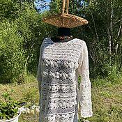 Винтаж handmade. Livemaster - original item Vintage Lace Jacket/Blouse/tunic. Handmade.