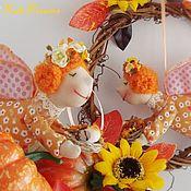 Куклы и игрушки ручной работы. Ярмарка Мастеров - ручная работа Осенние Ангелочки. Handmade.