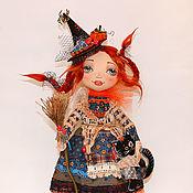 Куклы и игрушки ручной работы. Ярмарка Мастеров - ручная работа авторская коллекционная кукла Ведьмочка. Handmade.