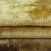 Материалы для творчества handmade. Livemaster - original item Plush vintage Golden brown. Handmade.