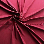 Материалы для творчества ручной работы. Ярмарка Мастеров - ручная работа KT02-200 Костюмная меланж. Цвет бордовый. Handmade.