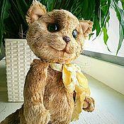 Куклы и игрушки ручной работы. Ярмарка Мастеров - ручная работа Зеленоглазый котик. Handmade.