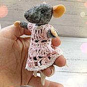 Мини фигурки и статуэтки ручной работы. Ярмарка Мастеров - ручная работа Мышка балерина. Handmade.