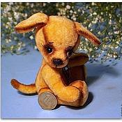 Куклы и игрушки ручной работы. Ярмарка Мастеров - ручная работа Песик тедди Блюм. Handmade.