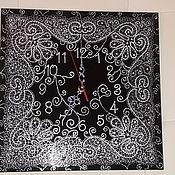 Для дома и интерьера ручной работы. Ярмарка Мастеров - ручная работа Часы ажурные. Handmade.