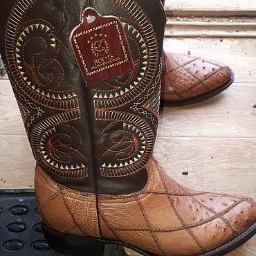 Обувь ручной работы. Ярмарка Мастеров - ручная работа Казаки мужские, натуральная кожа. Handmade.