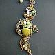 Bracelet Apple Secret Garden. Bead bracelet. color of magic. My Livemaster. Фото №4