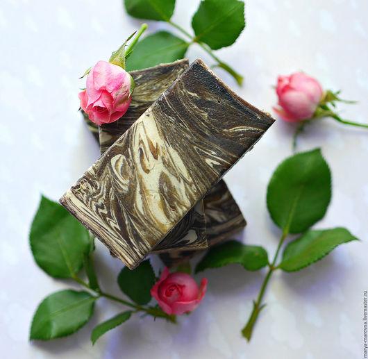 """Мыло ручной работы. Ярмарка Мастеров - ручная работа. Купить """"Сад Афродиты"""" Натуральное мыло с пудрой розы и маслам пачули. Handmade."""