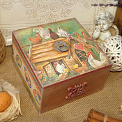 Подарки к праздникам handmade. Livemaster - original item Box-bonbonniere