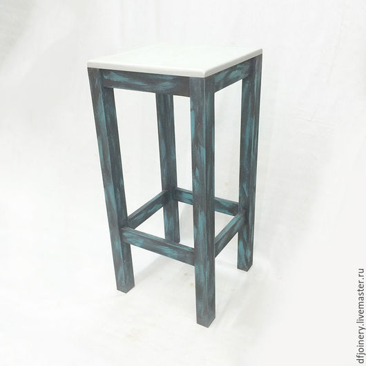 Мебель ручной работы. Ярмарка Мастеров - ручная работа. Купить Табурет барный из дерева №1. Handmade. Ручная работа handmade