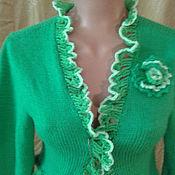 Одежда ручной работы. Ярмарка Мастеров - ручная работа Болеро с оборками. Handmade.